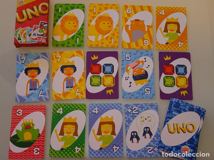 Carte Militaire Burger King.Baraja De Cartas Infantil Uno Burger King Res Sold