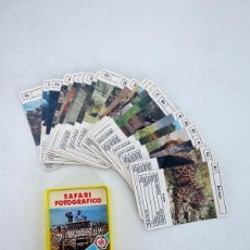 Barajas de cartas: MINIS 6. SAFARI FOTOGRÁFICO. BARAJA 25 NAIPES EN ESTUCHE HERACLIO FOURNIER, S.A., 1978. Lote 131391373