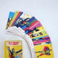 Barajas de cartas: MINIS 11. EL PRINCIPE VALIENTE. BARAJA 25 NAIPES EN ESTUCHE HERACLIO FOURNIER, S.A., 1978. Lote 175818805