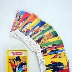 Barajas de cartas: MINIS 12. MANDRAKE EL MAGO. BARAJA 25 NAIPES EN ESTUCHE HERACLIO FOURNIER, S.A., 1978. Lote 175818810