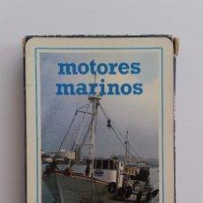 Mazzi di carte: ANTIGUA BARAJA HERACLIO FOURNIER CON PUBLICIDAD MOTORES MARINOS CATERPILLAR SIN ESTRENAR. Lote 99887183