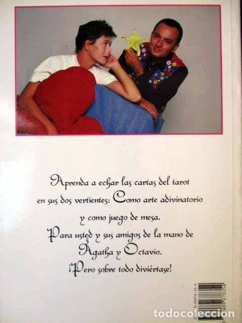 Barajas de cartas: El Tarot de Agatha Ruiz de la Prada y Octavio Aceves. Huerga & Fierro. 1996 LIBRO + BARAJA COMPLETA - Foto 2 - 99937911