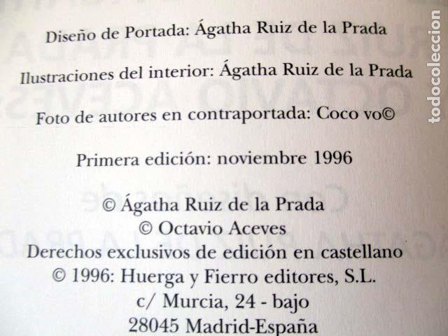 Barajas de cartas: El Tarot de Agatha Ruiz de la Prada y Octavio Aceves. Huerga & Fierro. 1996 LIBRO + BARAJA COMPLETA - Foto 3 - 99937911
