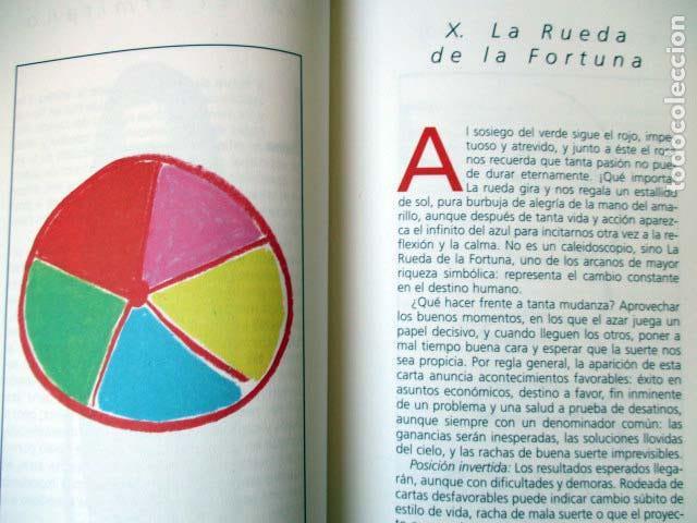 Barajas de cartas: El Tarot de Agatha Ruiz de la Prada y Octavio Aceves. Huerga & Fierro. 1996 LIBRO + BARAJA COMPLETA - Foto 4 - 99937911