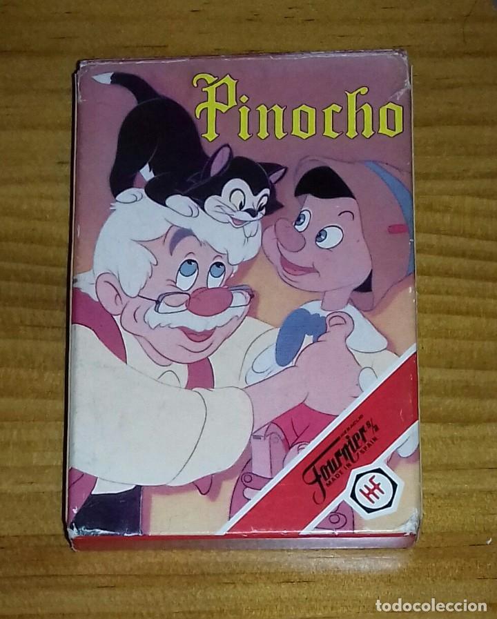 BARAJA DE CARTAS PINOCHO (Juguetes y Juegos - Cartas y Naipes - Barajas Infantiles)