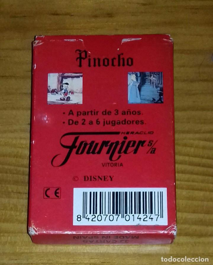 Barajas de cartas: Baraja de cartas Pinocho - Foto 2 - 99943483
