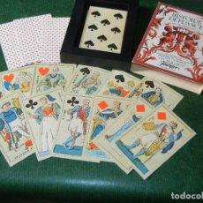 Barajas de cartas: BARAJA - HISTOIRE DE FRANCE DE HERACLIO FOURNIER - SIN USO EN PERFECTO ESTADO. Lote 99946291