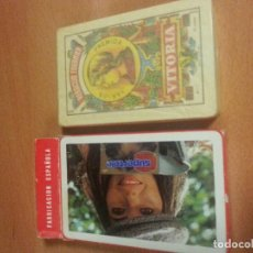 Barajas de cartas: BARAJA ESPAÑOLA NAIPES FIBRA MARFIL PUBLICIDAD SUPERTELE 50 CARTAS PRECINTADAS DE HERACLIO FOURNIER.. Lote 99972295
