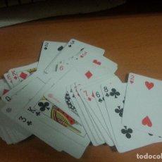 Barajas de cartas: BARAJA DE PÓKER NAIPES PLASTIFICADOS 55 CARTAS DE HERACLIO FOURNIER. Lote 99974831