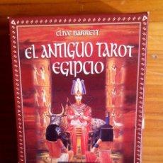 Barajas de cartas: BARAJA EL ANTIGUO TAROT EGIPCIO - EDAF . Lote 100087087