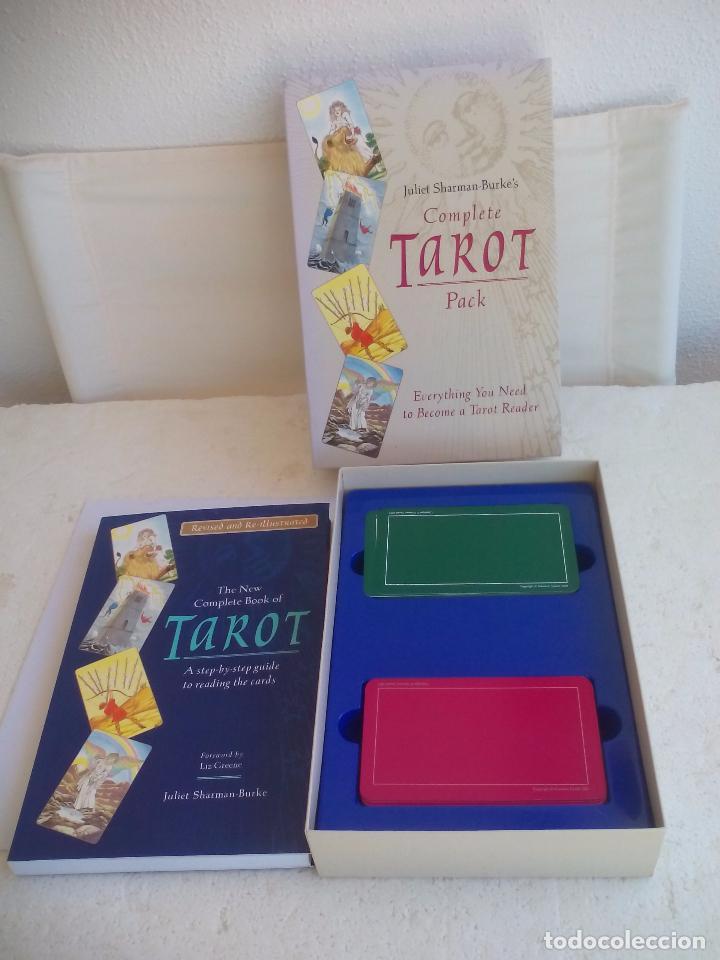 COMPLETE TAROT PACK. JULIET SHARMAN-BUKE'S. PACK. LIBRO + DOS BARAJAS. BARAJA MY TAROT Y THE SHARMAN (Juguetes y Juegos - Cartas y Naipes - Barajas Tarot)