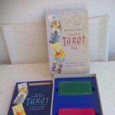 Jeux de cartes: COMPLETE TAROT PACK. JULIET SHARMAN-BUKE'S. PACK. LIBRO + DOS BARAJAS. BARAJA MY TAROT Y THE SHARMAN. Lote 100170875