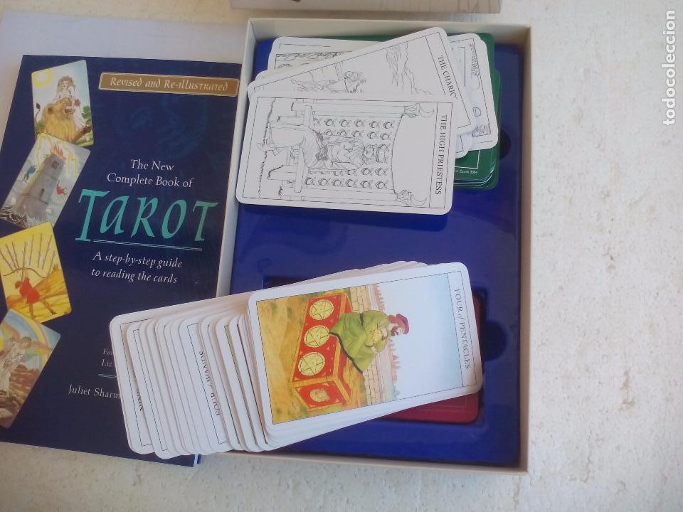 Barajas de cartas: Complete Tarot Pack. Juliet Sharman-Buke's. Pack. Libro + dos barajas. Baraja My tarot y The Sharman - Foto 4 - 100170875