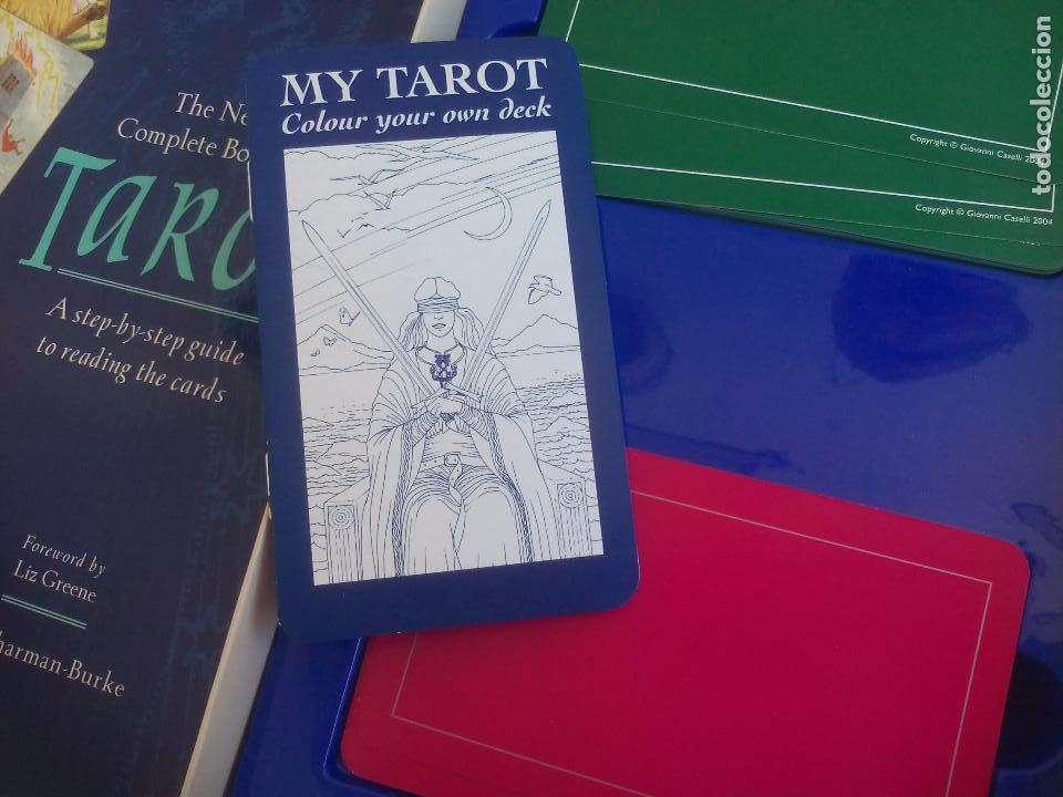 Barajas de cartas: Complete Tarot Pack. Juliet Sharman-Buke's. Pack. Libro + dos barajas. Baraja My tarot y The Sharman - Foto 5 - 100170875