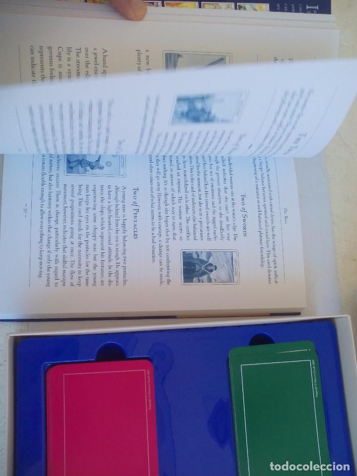Barajas de cartas: Complete Tarot Pack. Juliet Sharman-Buke's. Pack. Libro + dos barajas. Baraja My tarot y The Sharman - Foto 6 - 100170875