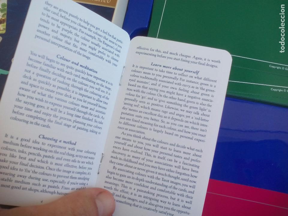 Barajas de cartas: Complete Tarot Pack. Juliet Sharman-Buke's. Pack. Libro + dos barajas. Baraja My tarot y The Sharman - Foto 7 - 100170875
