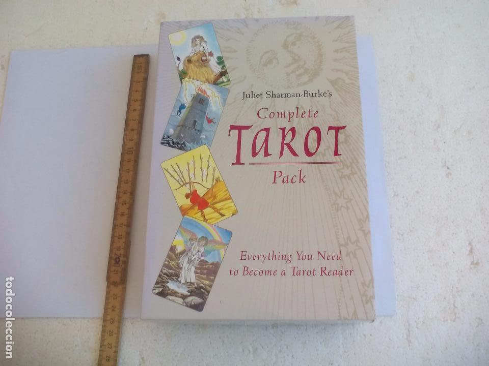 Barajas de cartas: Complete Tarot Pack. Juliet Sharman-Buke's. Pack. Libro + dos barajas. Baraja My tarot y The Sharman - Foto 8 - 100170875
