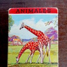 Barajas de cartas: BARAJA DE CARTAS HERACLIO FOURNIER ANIMALES VERTEBRADOS - VITORIA. Lote 100234371