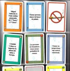 Barajas de cartas: 2 BARAJAS, CONTRA EL TABACO + POKER N. COMAS EL CIERVO Nº 12. Lote 100249831