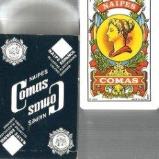 Barajas de cartas: BARAJA NAIPES COMAS ( SEGUROS PELAYO, HOGAR COMUNIDADES ) . Lote 100311443