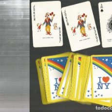 Barajas de cartas: BARAJA I LOVE NEW YORK . Lote 100315483