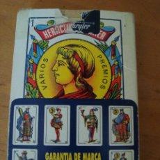 Barajas de cartas: BARAJA CARTAS HERACLIO FOURNIER 1962. Lote 100316227