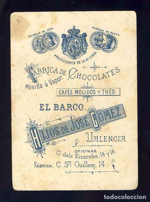 Barajas de cartas: Baraja de Chocolates El Barco, grande: 6 de bastos - Foto 2 - 100359487
