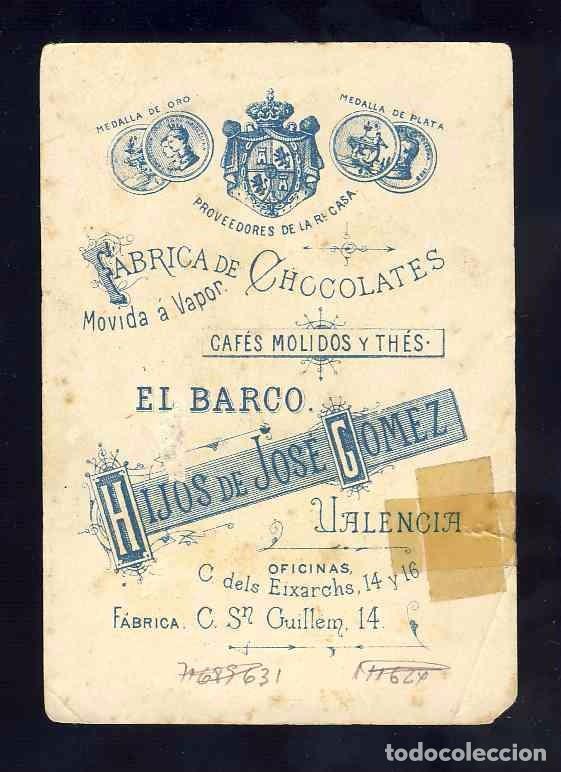 Barajas de cartas: Baraja de Chocolates El Barco, grande: 4 de bastos. Baile - Foto 2 - 100359579