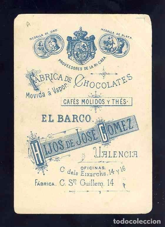 Barajas de cartas: Baraja de Chocolates El Barco, grande: 3 de copas - Foto 2 - 100359643