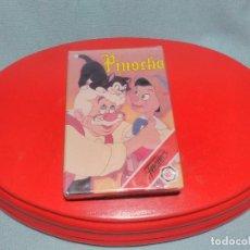 Jeux de cartes: BARAJA DE CARTAS DE PINOCHO DISNEY DE HERACLIO FOURNIER 1992, COMPLETA SIN USAR NI ABRIR PRECINTO.. Lote 100365699
