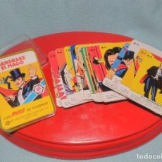 Jeux de cartes: BARAJA DE CARTAS MINI , MANDRAKE , DE HERACLIO FOURNIER 1978, COMPLETA CON INSTRUCCIONES Y CAJA.. Lote 100367339