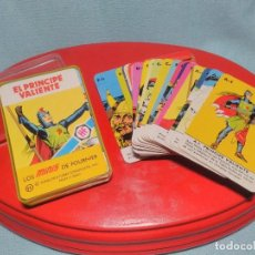 Baralhos de cartas: BARAJA DE CARTAS MINI , PRÍNCIPE VALIENTE, DE HERACLIO FOURNIER 1978, COMPLETA INSTRUCCIONES Y CAJA.. Lote 100367471