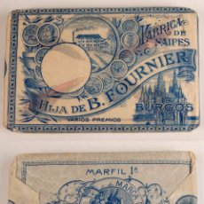Barajas de cartas - BARAJA DE CARTAS. HIJA DE B. FOURNIER - BURGOS - MARFIL 1ª - MARCA DE FÁBDRICA - PRECINTADA - 100518539