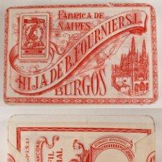 Barajas de cartas: BARAJA DE CARTAS. HIJA DE B. FOURNIER - BURGOS - MARFIL ESPECIAL - PRECINTADA. Lote 100518671