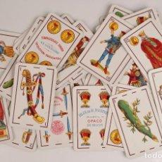 Barajas de cartas: BARAJA DE CARTAS. HIJA DE B. FOURNIER - BURGOS - MARFIL 1ª OPACO - NAIPES INTRANSPARENTES. Lote 100518819