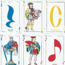Barajas de cartas: BARAJA ESPAÑOLA JUEGO DE VARIACIONES MUSICALES-AÑO 1993.-. Lote 199415438