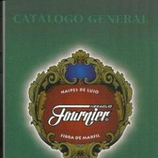 Barajas de cartas: CATÁLOGO GENERAL. HERACLIO FOURNIER. BARAJAS. NAIPES. CALENDARIOS. ACCESORIOS . Lote 101147687