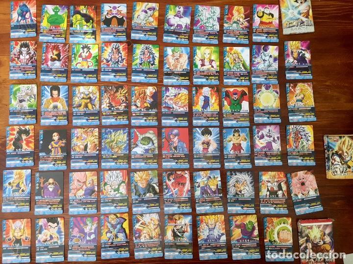 COLECCION 58 CARTAS BOLA DE DRAGON - GOKU - PICOLO - FREEZER - VEGETA SON GOHANDA - SUPER SAIYAN (Juguetes y Juegos - Cartas y Naipes - Otras Barajas)