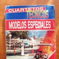 Barajas de cartas: JUEGO NAIPES BARAJA CARTAS INFANTILES CUARTETOS TECNICOS. MODELOS ESPECIALES. FOURNIER. AÑO 1995.. Lote 101653159
