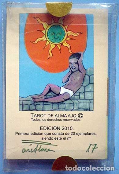 TAROT DE ALMA AJO 22 ARCANOS MAYORES 17ª EDICION 2010 (Juguetes y Juegos - Cartas y Naipes - Barajas Tarot)