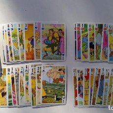 Barajas de cartas: BARAJA INFANTIL FESTIVAL WALT DISNEY FOURNIER, AÑOS 70. COMPLETA. Lote 101773315