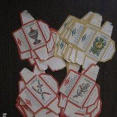 Barajas de cartas: BARAJA FUNDAS HOJAS DE AFEITAR MARAVILLA - COMPLETA 48 CROMO FUNDAS - VER FOTOS - (V-12.435). Lote 101999323