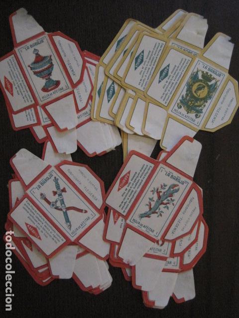 Barajas de cartas: BARAJA FUNDAS HOJAS DE AFEITAR MARAVILLA - COMPLETA 48 CROMO FUNDAS - VER FOTOS - (V-12.435) - Foto 2 - 101999323