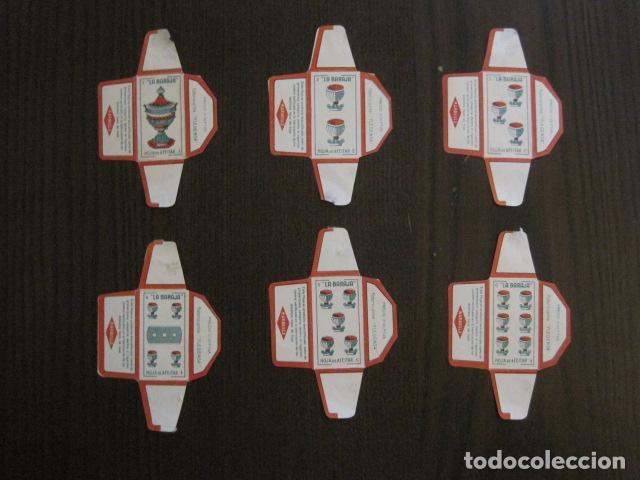 Barajas de cartas: BARAJA FUNDAS HOJAS DE AFEITAR MARAVILLA - COMPLETA 48 CROMO FUNDAS - VER FOTOS - (V-12.435) - Foto 7 - 101999323