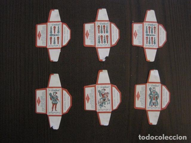 Barajas de cartas: BARAJA FUNDAS HOJAS DE AFEITAR MARAVILLA - COMPLETA 48 CROMO FUNDAS - VER FOTOS - (V-12.435) - Foto 13 - 101999323