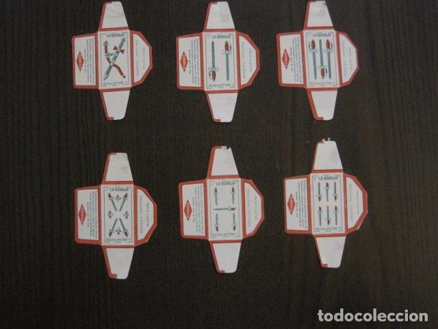 Barajas de cartas: BARAJA FUNDAS HOJAS DE AFEITAR MARAVILLA - COMPLETA 48 CROMO FUNDAS - VER FOTOS - (V-12.435) - Foto 15 - 101999323