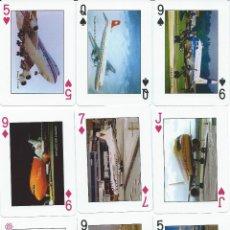 Barajas de cartas: BARAJA AGENCIA DE PROMOCION VIA(AVIONES)-AÑO 2004-FOURNIER. Lote 102094127