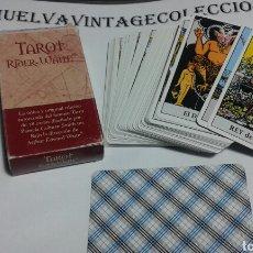 Barajas de cartas: TAROT RIDER-WAITE.. Lote 141952388