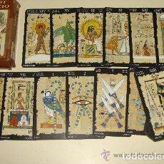 Barajas de cartas: TAROT EGIPCIO LO SCARABEO. Lote 102684351