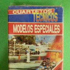 Barajas de cartas: BARAJA INFANTIL - CUARTETOS TECNICOS MODELOS ESPECIALES - CARTAS - NAIPES - FOURNIER - CON PRECINTO. Lote 102747955